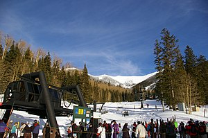 Arizona Snowbowl - Snowbowl Ski Lift, 2008