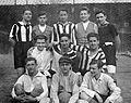 Soccer team, football Fortepan 3369.jpg