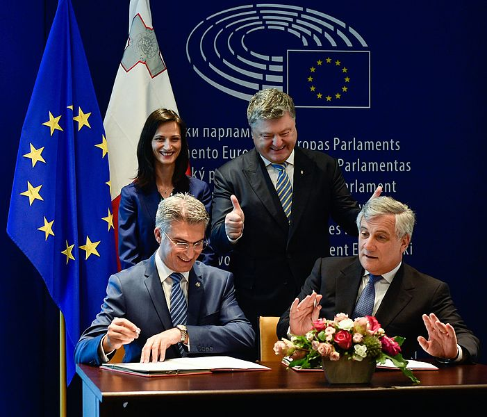 Solemn ceremony of signing the document on visa liberalisation with the EU for Ukrainians 03.jpg