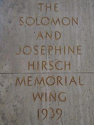 Solomon Hirsch - Hirsch memorial wing at the Portland Art Museum