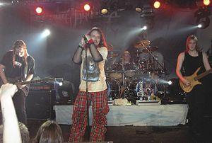 Sonata Arctica - Sonata Arctica performing in Helmond, Germany, in April 2006