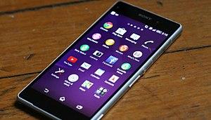 Sony Xperia Z2 - Image: Sony Xperia Z2 face 20140429