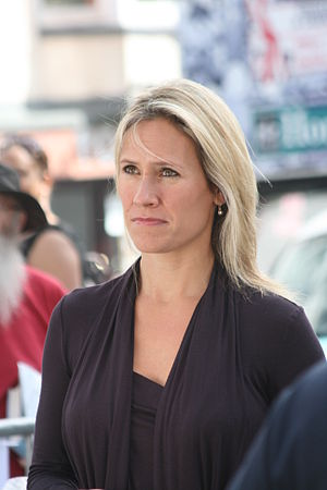 Celebrity and TV news presenter Sophie Raworth...