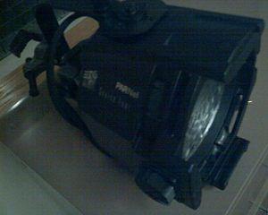 Source Four PAR - An ETC Source Four PARNel. Note the wavy lens