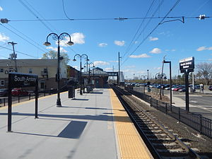 South Amboy station - South Amboy station in April 2015.