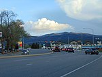 South at US-40 & US-189 junction, Apr 16.jpg