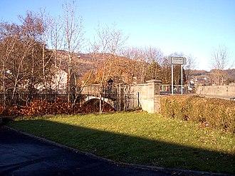 Aberfan - Image: South entrance to Aberfan geograph.org.uk 83369