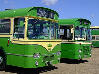 Southdown Motor Services - Preserved Leyland and Bristol buses run previously by Southdown.