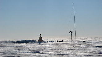 Historic Sites and Monuments in Antarctica - Image: Southern Pol of Inaccessibility Henry Cookson team n 2i