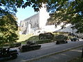 Soviet Red Army Tank 313 and Trucks in front of the Toompea Castle in Tallinn 3 October 2013.JPG