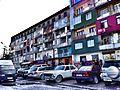 Soviet apartment building, Batumi.JPG