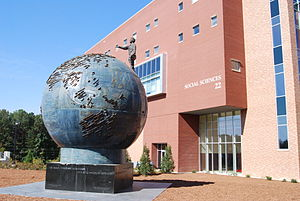 Spaceship Earth at Kennesaw State University s...