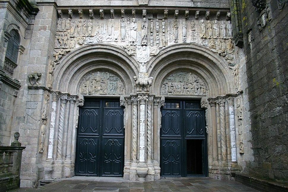 Porta das Praterías.