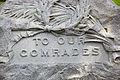 Spanish-American War Nurses Memorial - closeup middle - Arlington National Cemetery - 2011.JPG