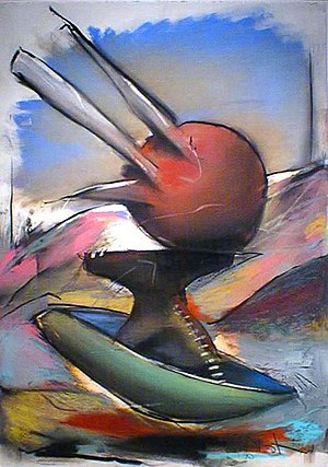 John Van Alstine - Sphere with Spikes, 1990