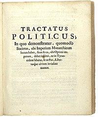 Tractatus Politicus cover