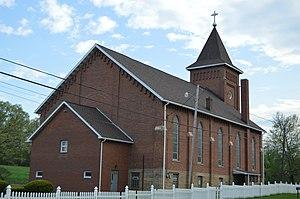Pennsylvania Route 68 - St. Joseph's Church on Route 68, North Oakland