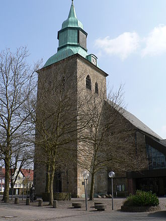 Melle, Germany - Roman Catholic St. Matthäus Church