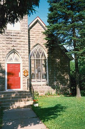 St Olaf's Episcopal Church, (Amherst, Wisconsin) - Image: St. Olaf's Episcopal Church Amherst Wisconsin 1997
