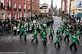 St. Patrick's Day Parade (2013) In Dublin - Brewster High School Marching Bears, New York, USA (8565222587).jpg