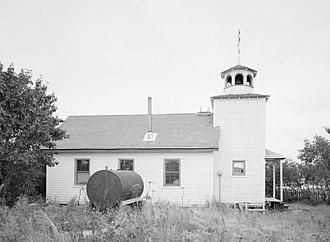National Register of Historic Places listings in Aleutians East Borough, Alaska - Image: St Nicholas Church Sand Point AK