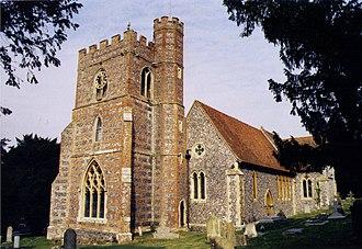 Bradfield, Berkshire - The church of St Andrew