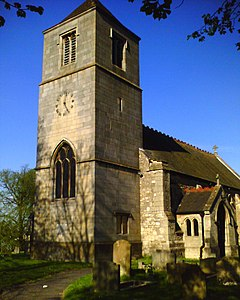 St Hybald's Church Tower, Hibaldstow.jpg