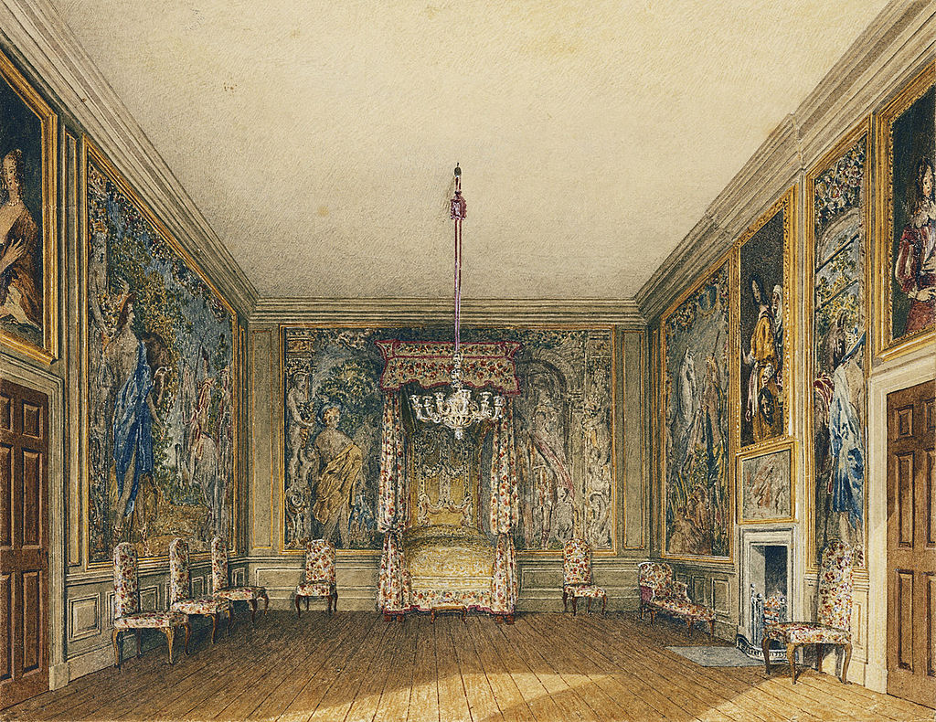 Сент - Джеймсский дворец, Старая спальня, Чарльз Уайлд, 1819- royal coll 922165 313724 ORI 2.jpg