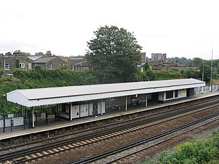 railway station in Lewisham, London
