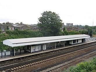 St Johns railway station - Image: St John's station geograph.org.uk 224496