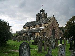 Church of St Leonard the Less, Samlesbury Church in Samlesbury, Lancashire