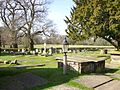 St Mary's, Nether Alderley, churchyard.JPG