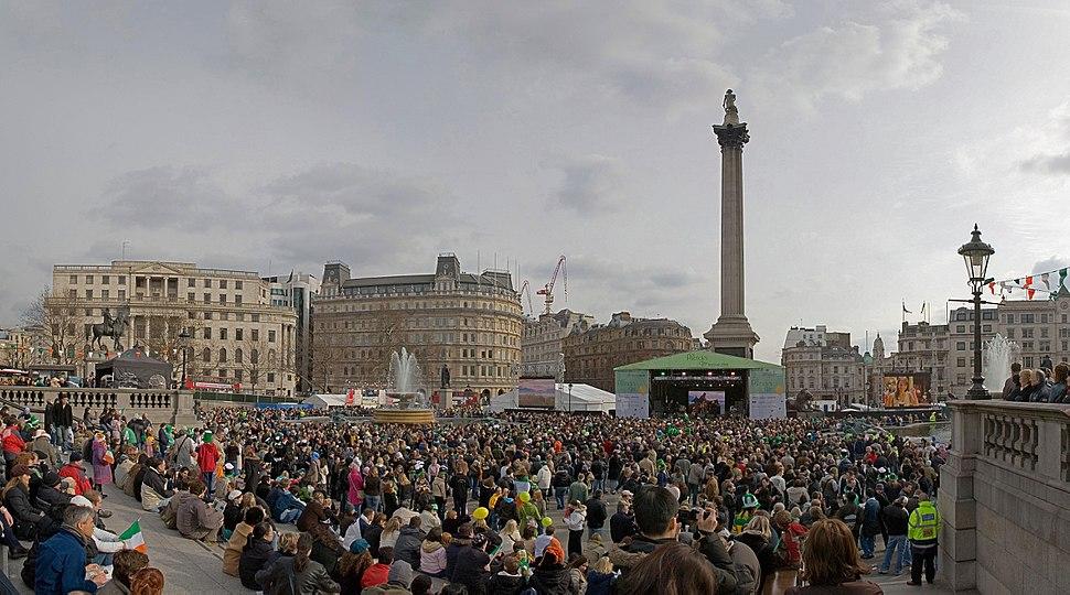 St Patrick's Day - Trafalgar Square March 2006