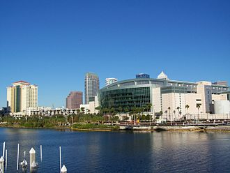 Garrison Channel - The Garrison Channel with the St. Pete Times Forum