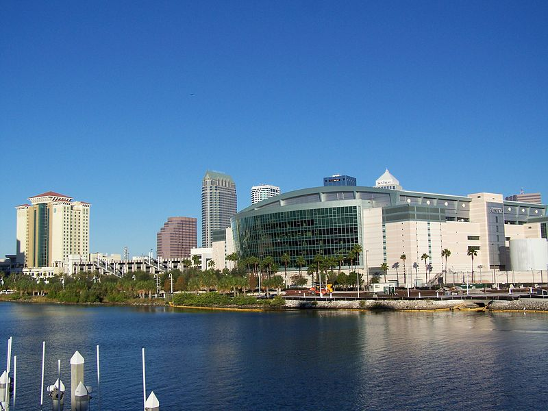 St Pete Times Forum with Garrison Channel