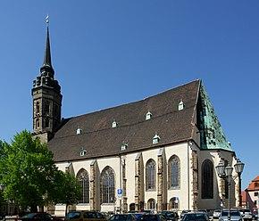 La concattedrale di San Pietro a Bautzen