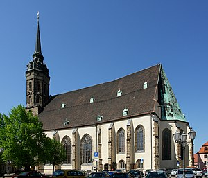 Roman Catholic Diocese of Dresden-Meissen - The then Cathedral of St. Peter in Bautzen, cocathedral since 1980.