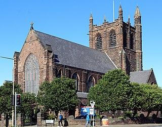 St Saviours Church, Oxton Church in Merseyside, England