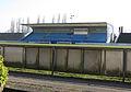 Stade Achille Hammerel, Tribune, Luxembourg, 2014.JPG