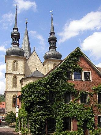Weikersheim - Image: Stadtkirche Weikersheim