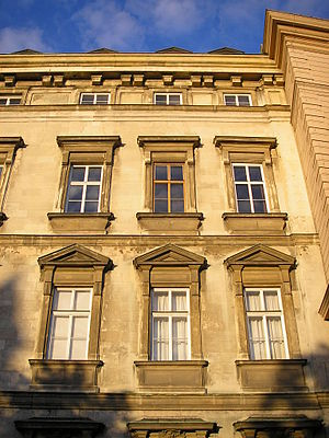 Stadtpalais Liechtenstein - Image: Stadtpalais Liechtenstein Vienna Sept 2006 002