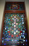 Stained glass, Oh Canada Royal Military College of Canada Club Montreal 1965.jpg