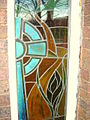 Stained glass window in youth centre in Mold - geograph.org.uk - 298771.jpg