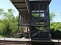 Stairs and footbridge at Grafton station, June 2012.JPG