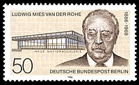 Image illustrative de l'article Ludwig Mies van der Rohe