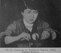 Stanislawa Tomczyk and ball.png