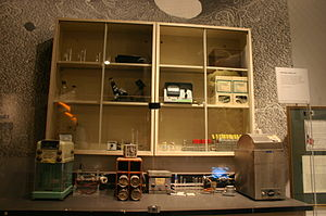 Stanley Norman Cohen - Stanley Norman Cohen's genetic engineering laboratory, 1973 - National Museum of American History