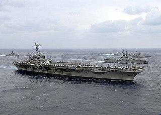 USS <i>George Washington</i> (CVN-73) Nimitz-class aircraft carrier
