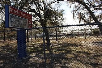 Starke, Florida - Image: Starke Elementary School