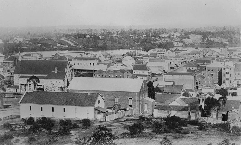 File statelibqld 1 168495 panoramic view of brisbane as for Queensland terrace state library